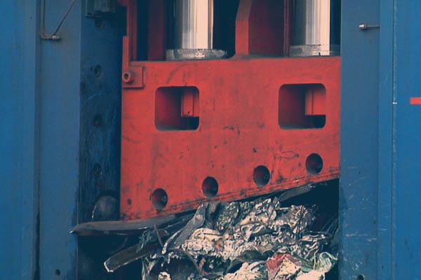 Foto impianto smaltimento metalli Roma